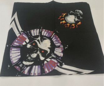 Red Eye Skull Bandana