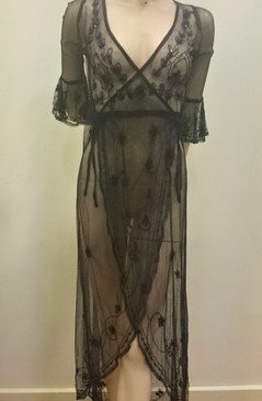 Peace Angel Sheer Gown