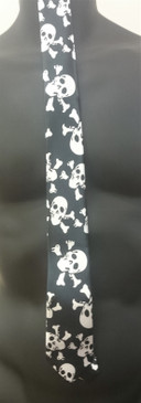 Skull and Crossbones Tie