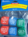 Reading Comprehension Soft Foam Cubes; Set of 6