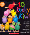 10 Kooky Kiwi with CD sung in English and Maori
