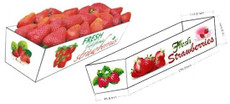 Strawberry Tray 3-Pack 250 Pieces