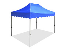 California King Palm Canopy Frame and Top (Size:8'x12')