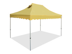 California King Palm Four Seasons Canopy Frame and Flame Retardant Top (Size:10'x15')