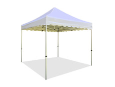 California King Palm Canopy Frame and Top (Size:10'x10')