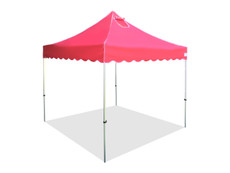 Princess Palm Four Seasons Canopy Frame and Flame Retardant Top (Size:10'x10')