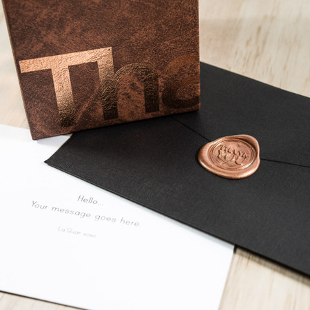 The Man Box & Personalised Wax-sealed Card