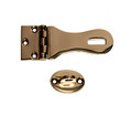Bronze hasp & staple - waist design.