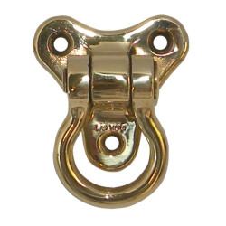 Marine shackle plate