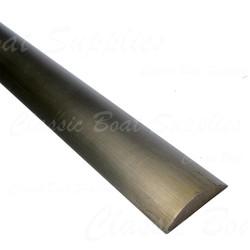 Brass rubbing strip