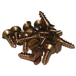 Silicon Bronze Screws - 4g Slot Head