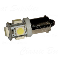 LED Bulb with BA9S Base