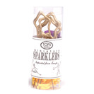 Mini Gold Star Sparklers, Pack of 4