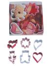 Mini Cookie Cutter Set, 6 Piece - Valentines