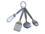"Mini 3.5"" Kitchen Tool Keychain"