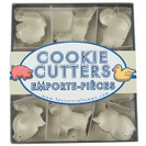 Mini Animal Cookie Cutters, Set of 9