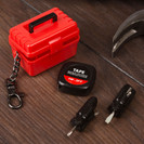 Mini Toolkit With Keyring Attachment