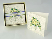 White Wedding Boxed Gift Enclosures