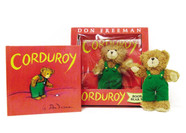 Corduroy Book and Bear Set