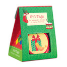 Collage Ornaments Holiday Gift Tags