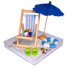 Day at the Beach Tabletop Sandbox