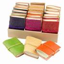 Embossed Leather Mini Journal