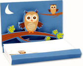 Owl Pop Up Notepad