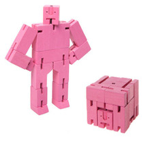 Pink Micro Cubebot
