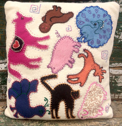 Folk Animal & Chicken Applique Saturday 19th January