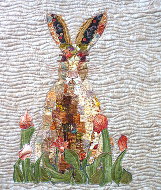 Hare completed in one of my classes by Alison Palmer