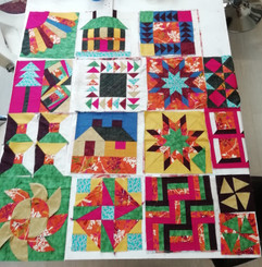 10 Monday's Patchwork classes Start 13th January 2020