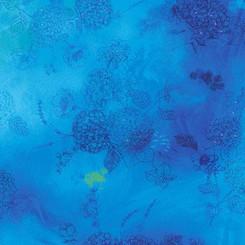 Aqua Floral sketch