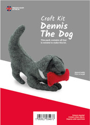 Felt Dennis the Dog Kit