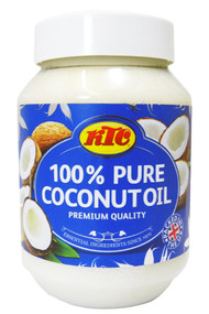 KTC 100% Pure Edible Coconut Oil for Cooking and Beauty