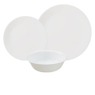 Corelle Winter Frost White 18pc Dinner Set