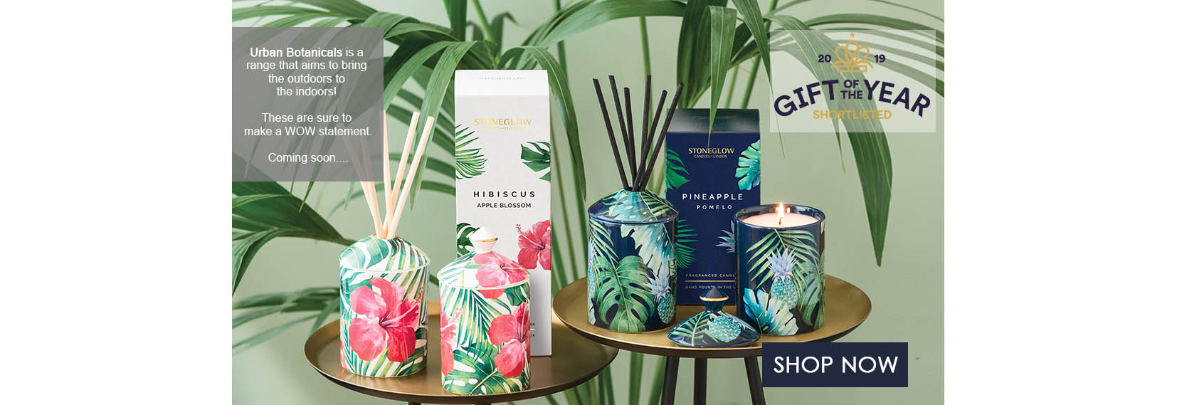 Urban Botanicals  Scented Candles