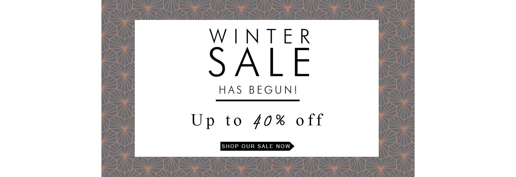 Winter Sale Has Begun!