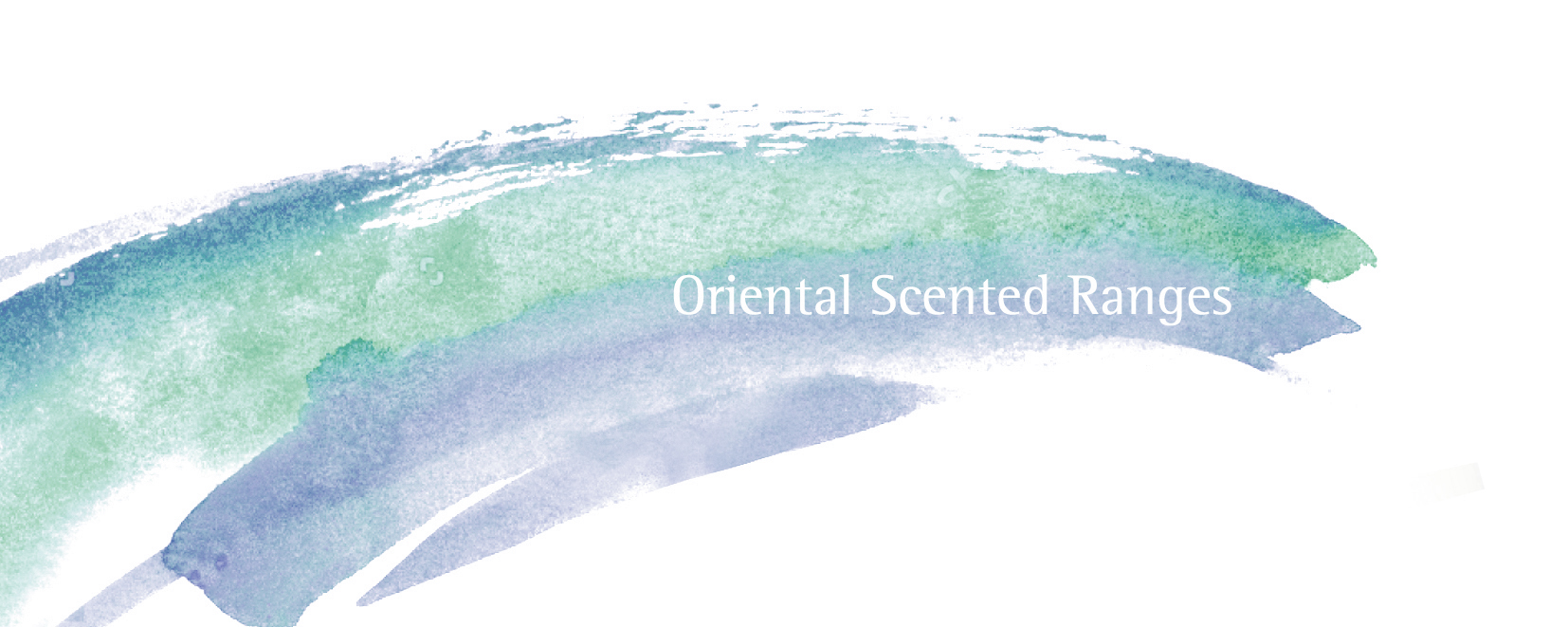 Oriental scented candles and reed diffusers