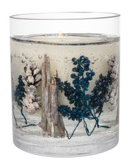 Stoneglow Candles - Seasonal Collection Vetivert & Blue Spruce Natural Wax Vase