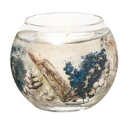 Stoneglow Candles - Seasonal Collection Vetivert & Blue Spruce Natural Wax Fishbowl