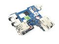 Dell Latitude E6410 Audio Ports / USB / RJ-45 Circuit Board for Discrete Nvidia Video - KHKG5
