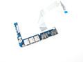 Dell Studio XPS 1640 1645 1647 Audio Port / USB IO Circuit Board - F138F
