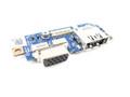 Dell Latitude E4300 eSATA / VGA IO Circuit Board - R670D