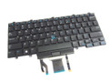 Dell Latitude E5450 E5470 E5480 E7450 E7470 E7480 Backlit Keyboard Dual Point - D19TR