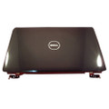 Dell Inspiron 1545 Laptop Lcd Back Cover Lid Top & Hinges - RJ4D0