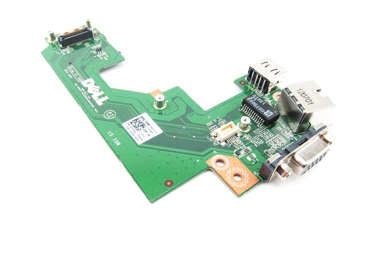 Dell Latitude E5520 Usb Vga Rj 45 Io Circuit Board 32pgc