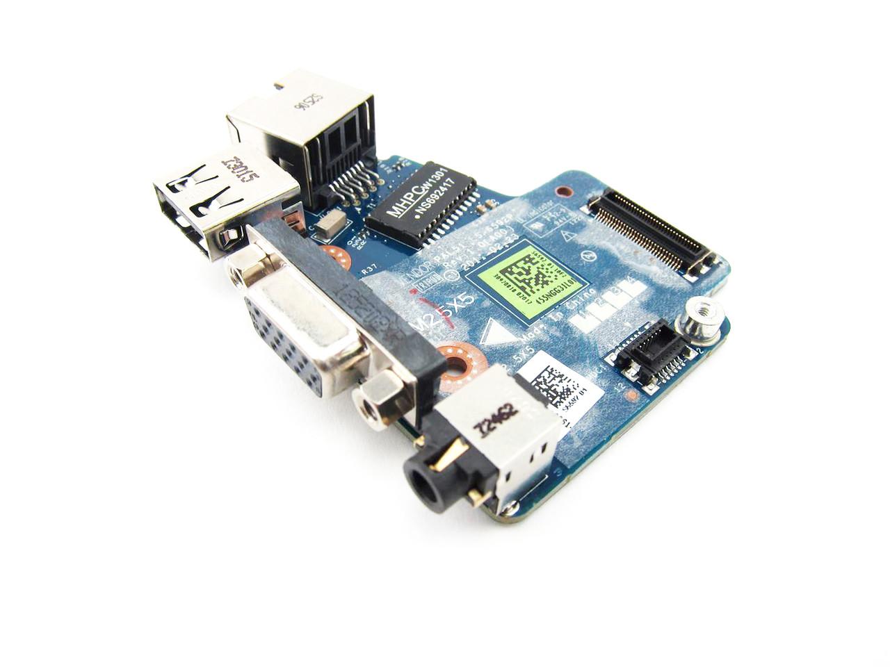 Dell Latitude E6420 Usb Vga Rj 45 Circuit Board Discrete Nvidia Video 3258h
