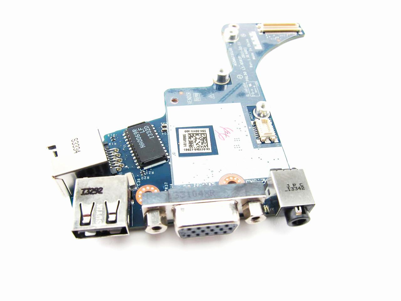Dell Latitude E6420 Usb Vga Rj 45 Port Io Circuit Board Intel Video Cyxng