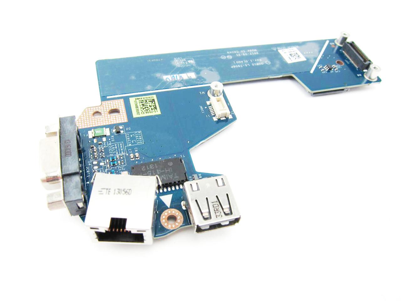 Dell Latitude E5530 Usb Vga Rj 45 Port Circuit Board 826r6 Schematic