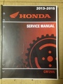 2013-2016 Honda CRF250L Part# 61KZZ03 service shop repair manual